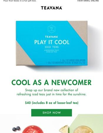 Play It Cool: New Iced Tea Sampler