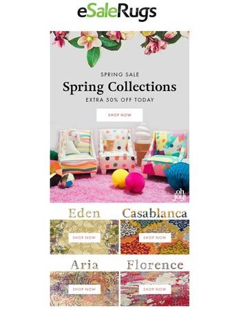 Spring Sale + Fresh Looks, Why Wait?