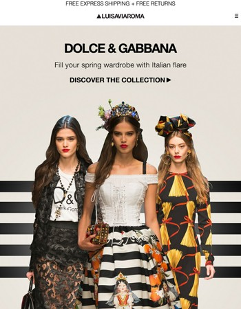 Dolce & Gabbana: Luxury at its finest