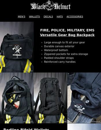 Firefighter Gear Bag is BACK!