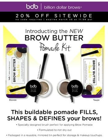 Introducing: Brow Butter Pomade Kit
