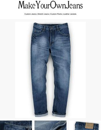 Kings Heavy Blue Jeans - Treated Hard Wash