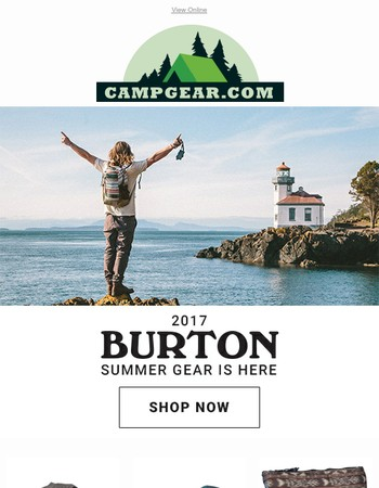 Step into Summer | 2017 Burton Collection Has Arrived!