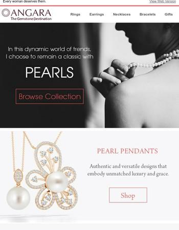 Pearls – Always in vogue
