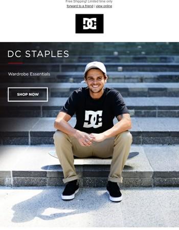 DC Staples | Your Wardrobe Essentials