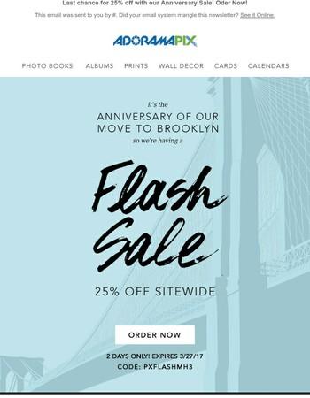 Annual Anniversary Sale - Come Celebrate with us!