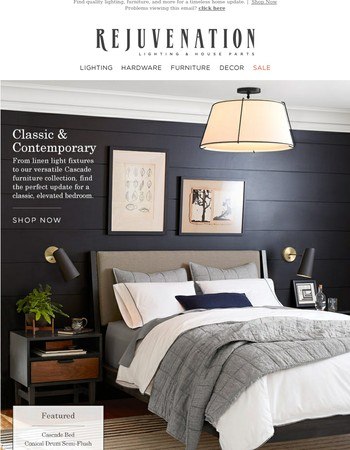 Bedroom Refresh: Classic & Contemporary Updates