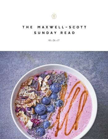 MSB Sunday Read   Spring Trends, Deskfast Recipes & Style Savvy Mothers