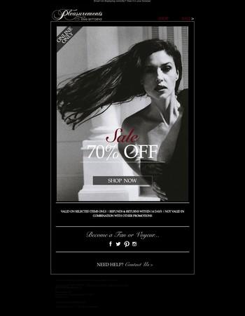 Flash Sale | 70% OFF | Get It Or Regret It...