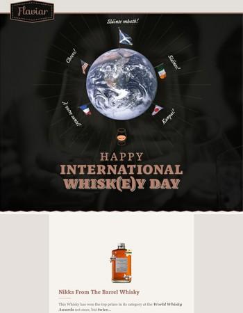 Happy International Whisk(e)y day!