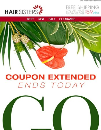 We've gone WILD! Coupons EXTENDED