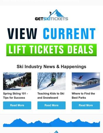 Ski News - Spring Skiing 101