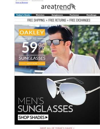 Shop Men's Sunglasses!