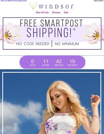 Hey Bae! Get Free Smartpost Shipping!