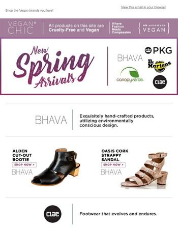 NEW Spring Essentials from BHAVA, Clae, Dr. Marten & More!