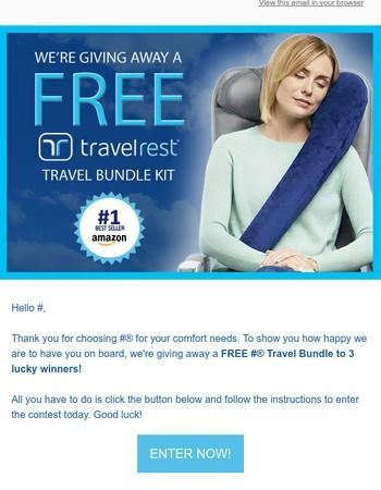 FREE TravelRest Bundle - Enter Now to Win!