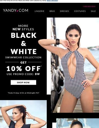 10% OFF NEW Sexy Swimwear!