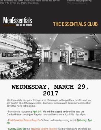 April's Events