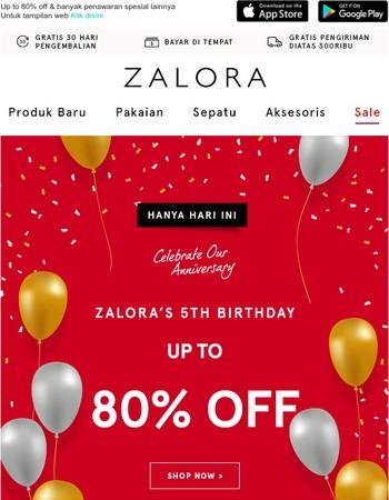 Zalora Indonesia Newsletter