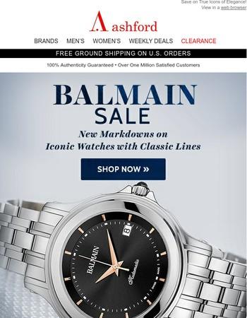 Balmain Sale Starts Now