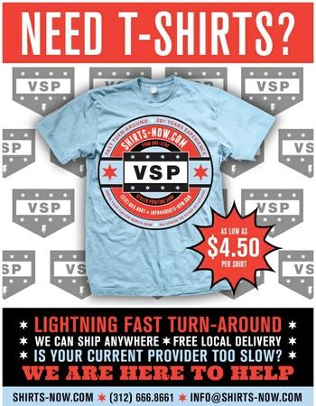 Custom T-Shirts Now | Victory Screen Printing