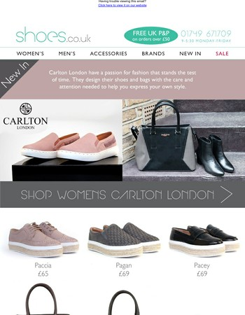 NEW IN | Carlton London - Express your own style