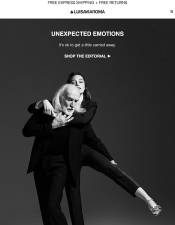 UNEXPECTED EMOTIONS: Good style has no age