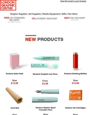 Chosen Just For You - Check Out Our Newest Ranges