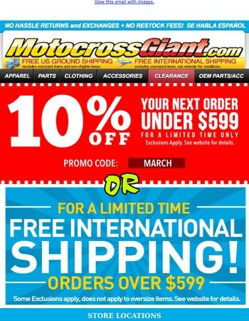 MotocrossGiant.com Newsletter
