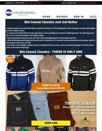 80sCC Just Got Better | New Adidas | Lois | Jackets