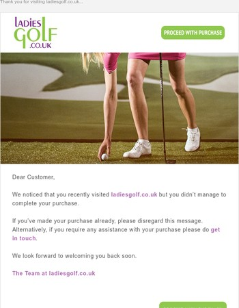 Thank you for visiting ladiesgolf.co.uk...