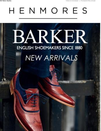 All New Barker | A Fine English Tradition