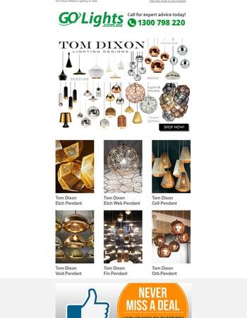 Tom Dixon Replica Lighting on Sale