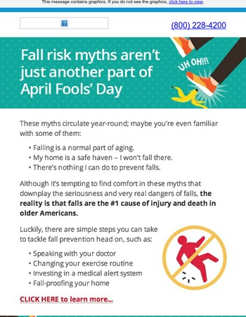 Think Falls Are A Joke? Guess Again.