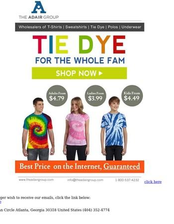 Nothing Says Spring Like Tie Dye!