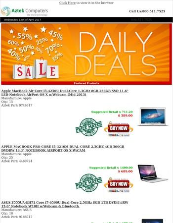 Notebook Deals