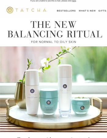 Introducing the New Balancing Ritual + Last Day For Your SPF Gift