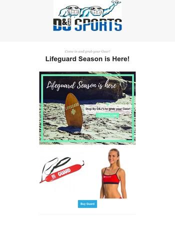 Life Guard Season is Here!