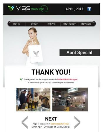 Special April Springtime Promo - VISS