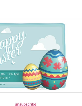 Happy Easter from Fusion Living – Save 10% Off Everything!