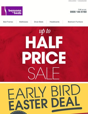 Early Bird Easter Deals End Tomorrow