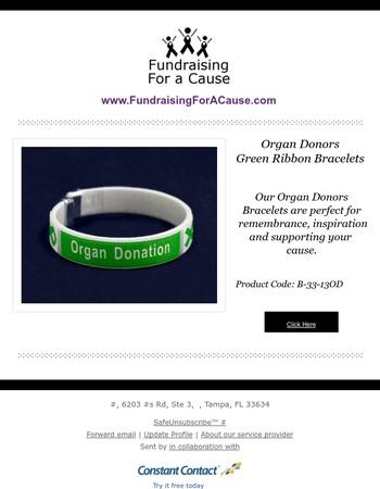 New Organ Donation Awareness Bangle Bracelets