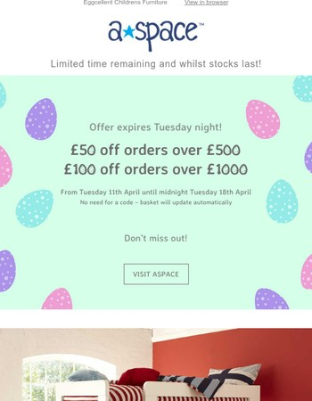 Our Easter Offer ends tomorrow.... Midnight.
