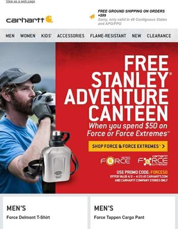 FREE Stanley Adventure Canteen