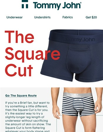Square Off with Your Old Underwear