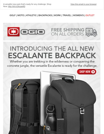Introducing The All New Escalante Backpack