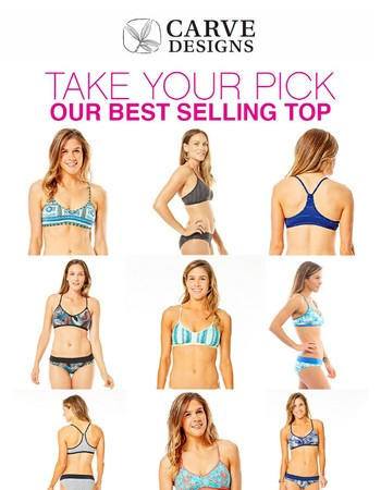 The Catalina Bikini Top, 9 Different Looks