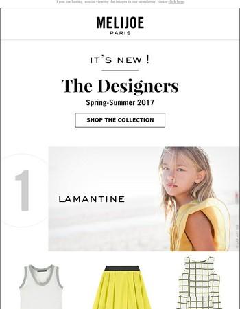 New ! Lamantine, Stella Jean, Chatelles, Fifi Chachnil
