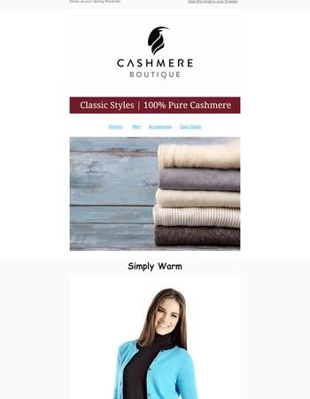 Classy Cashmere Cardigans