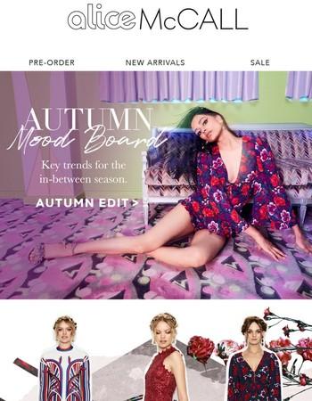 Your Autumn Mood Board